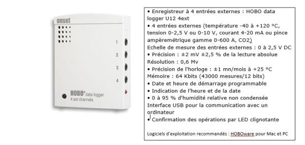 capteur de température avec enregistrement